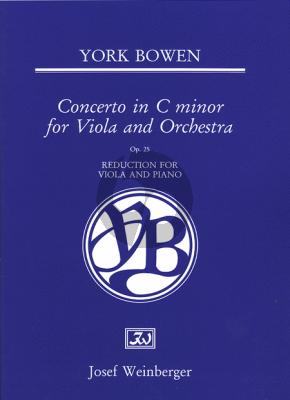Bowen Concerto Op.25 C Minor (Viola and Orchestra) (Pianoreduction Viola and Piano)