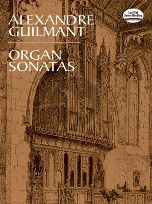 Guilmant Sonatas No. 1 - 5 for Organ (Dover)