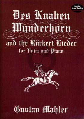 Mahler Knaben Wunderhorn & Ruckert Lieder (Germ./Engl.)