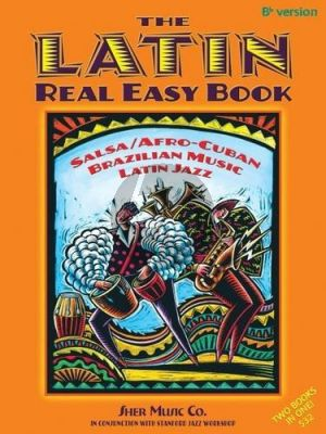 The Latin Real Easy Book all Bb Instruments (Chuck Cher)