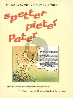 Herman van Veen Spetter Pieter Pater (Zang-Piano met Akkoorden)
