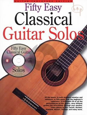 50 Easy Classical Guitar Solos (incl.tab.)