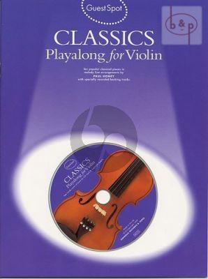 Guest Spot Classics Playalong for Violin Album