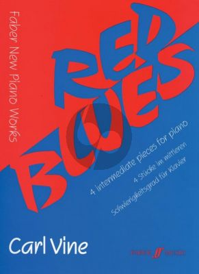 Vine Red Blues for Piano