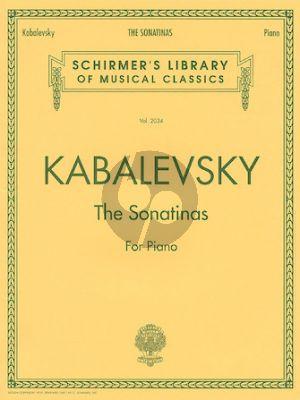 Kabalevsky Sonatinas Op.13 No.1 - 2 Piano solo