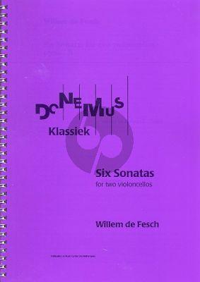 Fesch 6 Sonatas Op.1B (Score) Ed. Robert L.Tusler