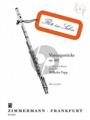 Vortragsstucke Op.462 Flöte und Klavier