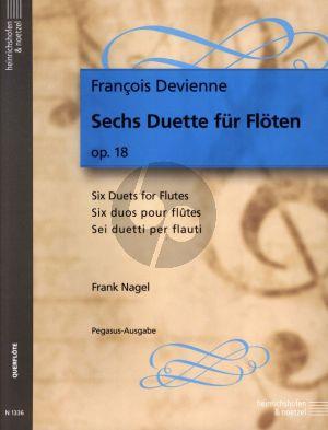 Devienne 6 Duette Op.18 2 Flutes (edited Frank Nagel)