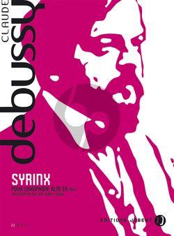 Debussy Syrinx pour Alto Saxophone seule