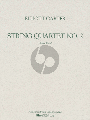 Carter String Quartet No.2 (1959) (Set of Parts)