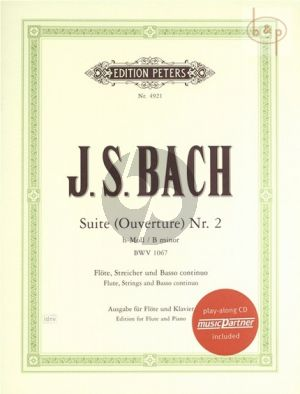 Suite No.2 b-minorBWV 1067 (Flute-Str.-Bc)