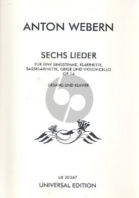 Webern Sechs Lieder opus 14 (High)