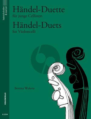 Handel Duette fur junge Cellisten (Bettina Wolerts)