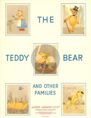 Teddy Bear and other Families for Piano