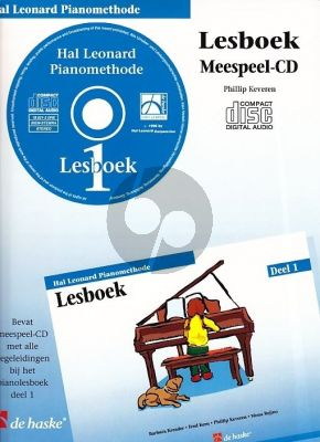 Piano Methode Vol.1 CD bij Lesboek (Alleen de Meespeel-Cd) (Barbara Kreader - Fred Kern - Phillip Keveren)
