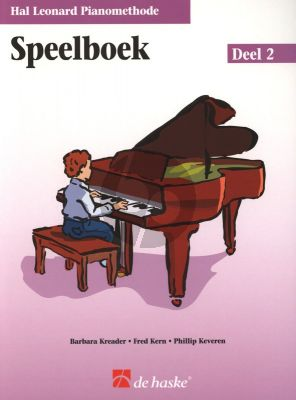 Piano Methode Vol.2 Speelboek (Alleen het Boek) (Barbara Kreader - Fred Kern - Phillip Keveren)