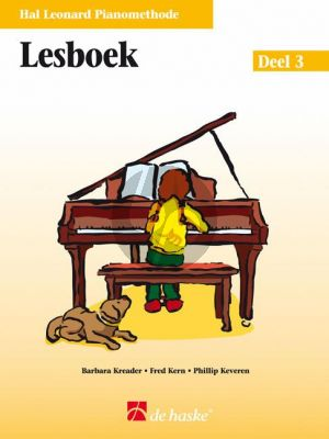 Piano Methode Vol.3 Lesboek (Alleen het Boek) (Barbara Kreader - Fred Kern - Phillip Keveren)