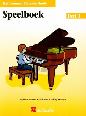 Piano Methode Vol.3 Speelboek (Alleen het Boek) (Barbara Kreader - Fred Kern - Phillip Keveren)