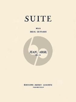 Absil Suite Op. 135 2 Guitares