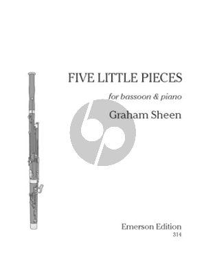 Sheen 5 Little Pieces (1991) Bassoon-Piano