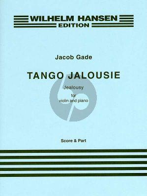 Gade Tango Jalousie (Jealousy) Tango Tzigane Violin-Piano