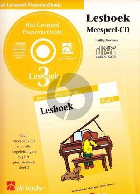 Piano Methode Vol.3 CD bij Lesboek (Alleen de Meespeel-Cd) (Barbara Kreader - Fred Kern - Phillip Keveren)