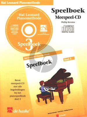 Piano Methode Vol.3 CD bij Speelboek (Alleen de Meespeel-Cd) (Barbara Kreader - Fred Kern - Phillip Keveren)