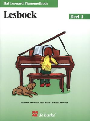 Piano Methode Vol.4 Lesboek (Alleen het Boek) (Barbara Kreader - Fred Kern - Phillip Keveren)