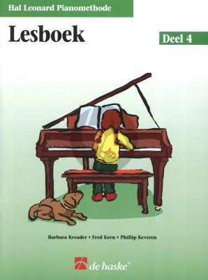 Piano Methode Vol.4 Lesboek (Alleen het Boek) (Barbara Kreader - Fred Kern - Phillip Keveren)