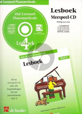 Piano Methode Vol.4 CD bij Lesboek (Alleen de Meespeel-Cd) (Barbara Kreader - Fred Kern - Phillip Keveren)