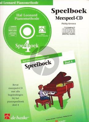 Piano Methode Vol.4 CD bij Speelboek (Alleen de Meespeel-Cd) (Barbara Kreader - Fred Kern - Phillip Keveren)