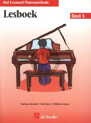 Piano Methode Vol.5 Lesboek (Alleen het Boek) (Barbara Kreader - Fred Kern - Phillip Keveren)
