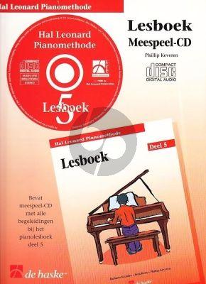 Piano Methode Vol.5 CD bij Lesboek (Alleen de Meespeel-Cd) (Barbara Kreader - Fred Kern - Phillip Keveren)