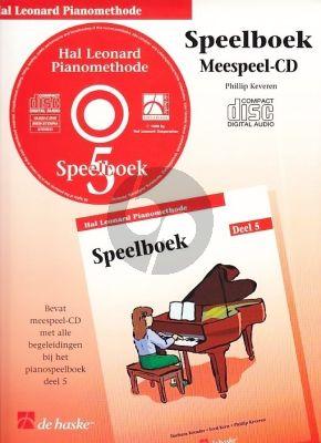 Piano Methode Vol.5 CD bij Speelboek (Alleen de Meespeel-Cd) (Barbara Kreader - Fred Kern - Phillip Keveren)