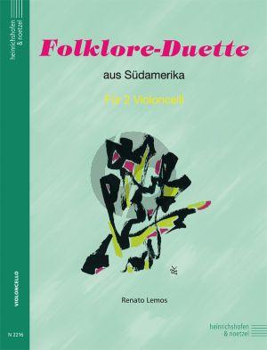 Folklore Duette aus Sudamerika 2 Violoncellos
