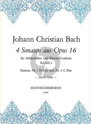 Bach 4 Sonaten aus Op.16 Vol.1