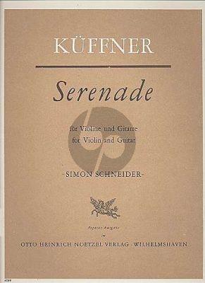 Kuffner Serenade Opus 68 Violine-Gitarre (Simon Schneider)