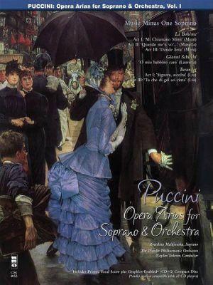 Puccini Opera Arias for Soprano with Orchestra Vol.1