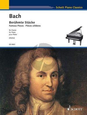 Bach Berühmte Stücke (Famous Pieces) Klavier (Rainer Mohrs)