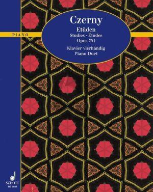 Czerny Etuden Op.751 Piano 4 hds. (Andersen) (Grade 2)