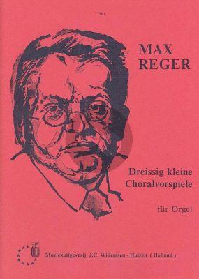 Reger 30 Choralvorspiele op.135A Orgel