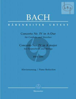 Concerto No.4 A-major BWV 1055 (Harpsichord- Strings) (Piano red.)