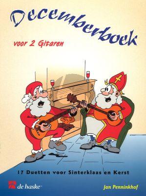 Decemberboek 2 gitaren (arr. Jan Penninkhof) (17 Duetten voor Sinterklaas en Kerst)