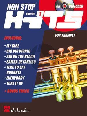 Non Stop Hits Vol.1 Trumpet (Bk-Cd) (medium)