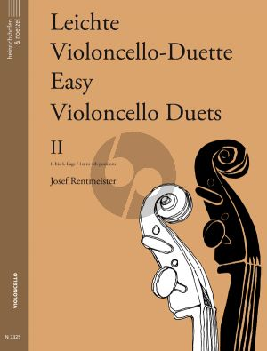 Rentmeister Leichte Violoncello Duette Vol.2 2 Violoncellos