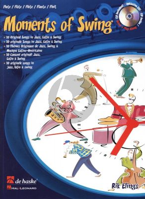 Elings Moments of Swing Flute (Bk-Cd) (interm.-adv.)