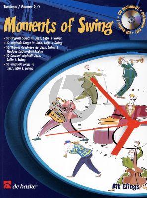 Elings Moments of Swing Trombone [BC] (Bk-Cd) (interm.-adv.)