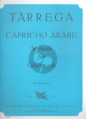 Tarrega Capriccio Arabe Gitarre (ed. Olle Erdmann)