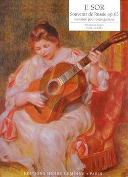Sor Souvenir de Russie Op.63 2 Guitares (Oscar Cacérès)