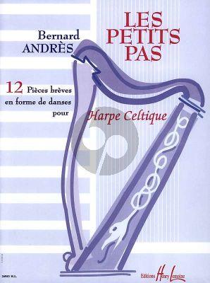 Andres Les Petits Pas pour Harpe (12 Pieces Breves en forme de Danse)